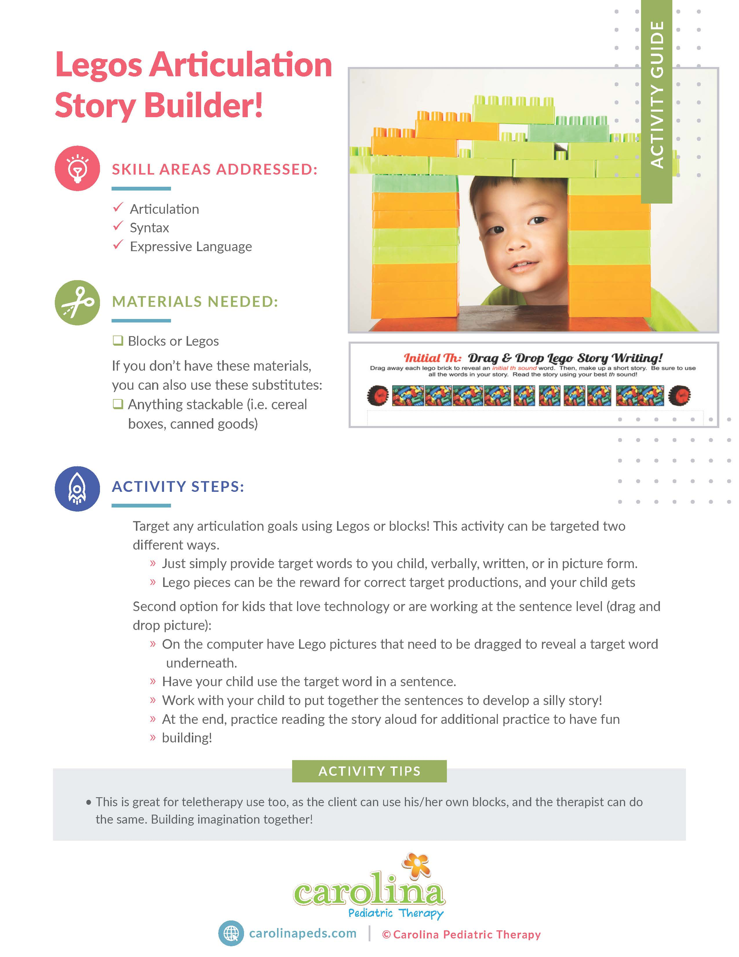 FInal Version - Activity - Articulation - Lego Story Builder-Stephanie Raybuck, ST