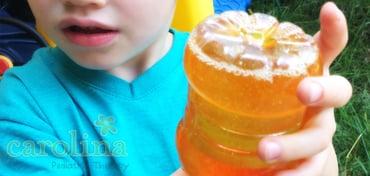 Sensory Bottles with Baby Oil | Sensory Bottles for Autism