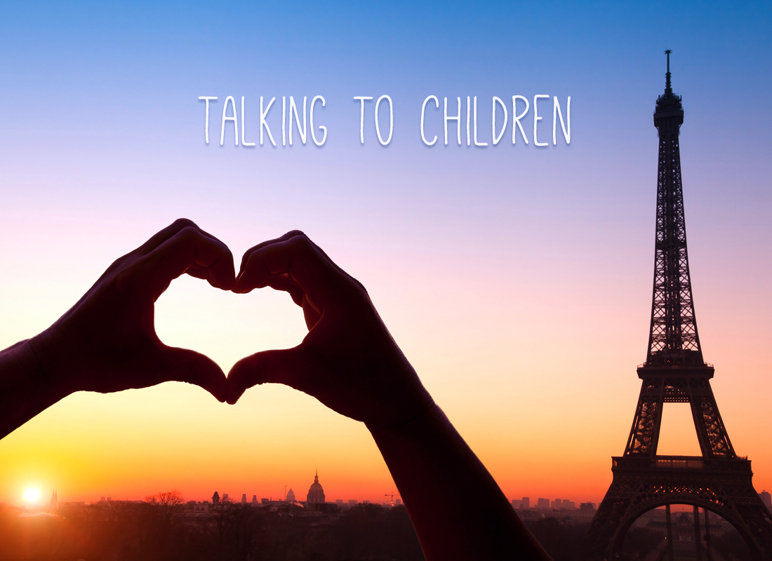 It's Okay to Talk to Your Children